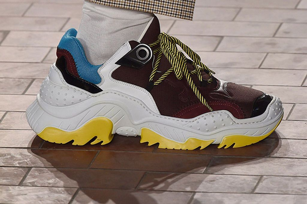 No.21's Spring Men's Shoes Are Super Retro and Chunky