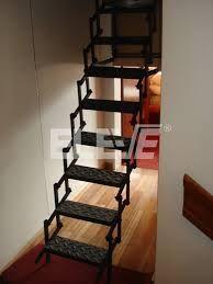 Resultado de imagen para escalera plegable de madera dise o altillo pinterest escalera - Escalera plegable para altillo ...