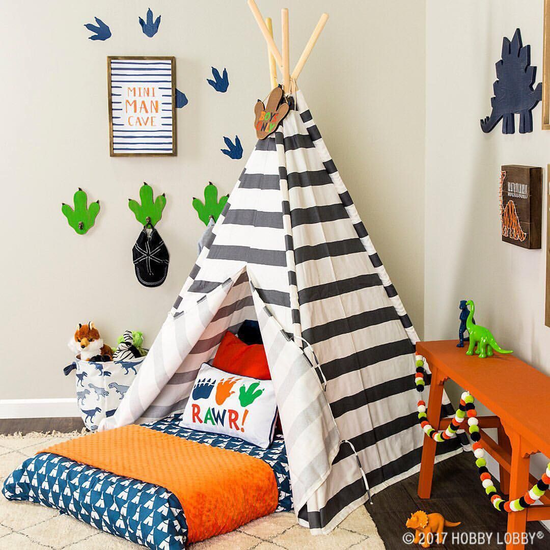 Kids Boy Bedroom Decoration: This Colorful Collection Of Dino Decor Is Perfect For The