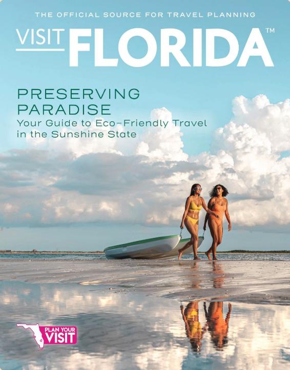 Visit Florida 2020 Official Vacation Guide Florida Travel Guide Florida Travel Vacation Guide