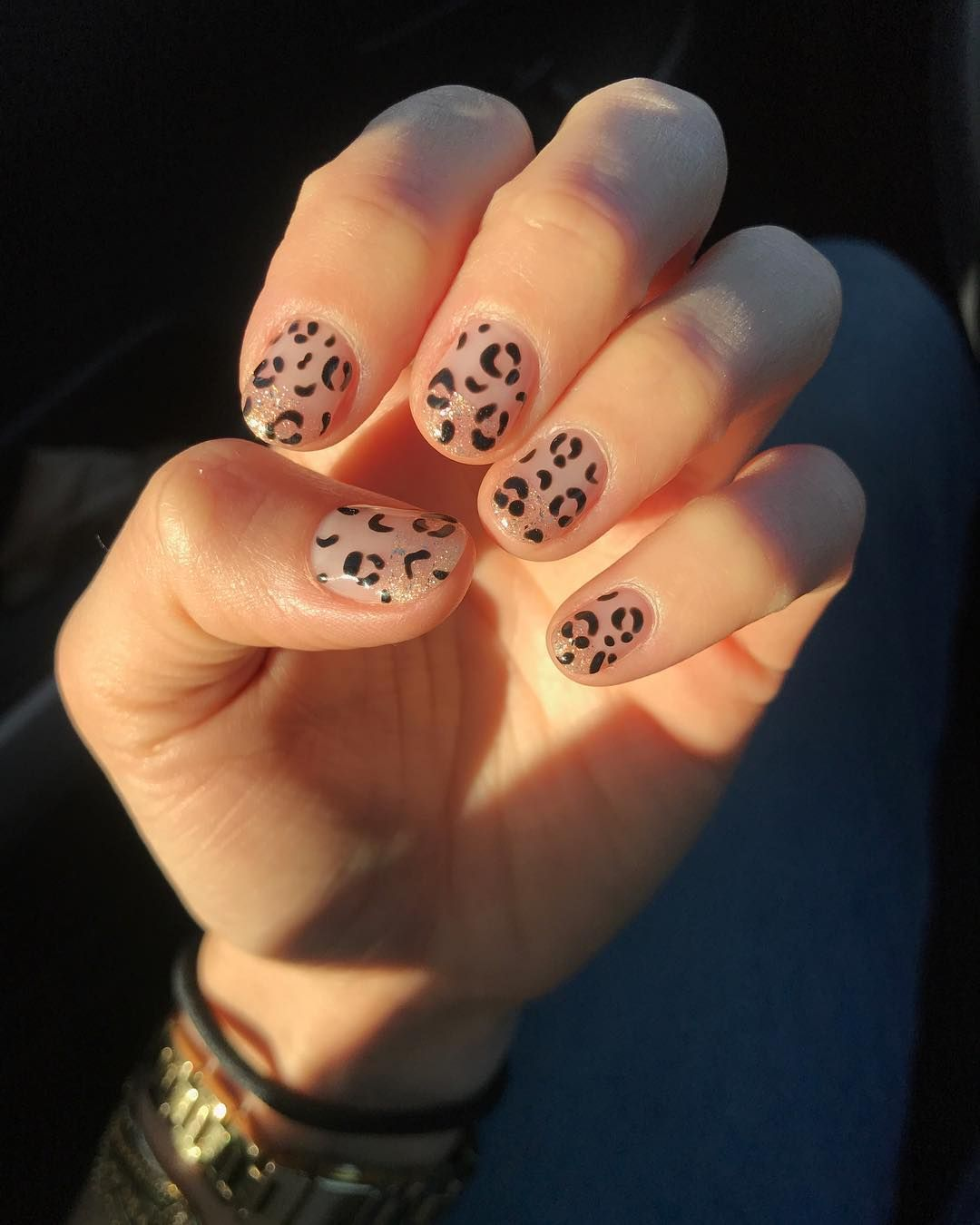 Animal Print Nail Art Is Your Go To Summer Accessory Cow Nails Cheetah Nail Designs Animal Print Manicure