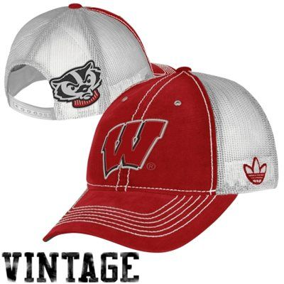 check out 2d080 65537 Shop the ultimate sports store for adidas Wisconsin Badgers Trucker Mesh  Adjustable Hat - Cardinal at Fanatics.com. Get the latest team sports  apparel and ...