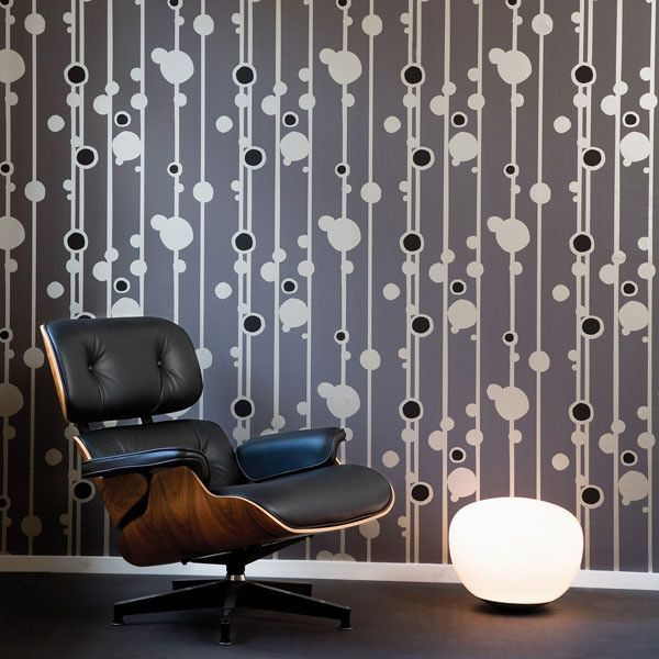 Wallpaper in Modern Design   Inmod Modern Furniture Blog. Wallpaper in Modern Design   Inmod Modern Furniture Blog   Color