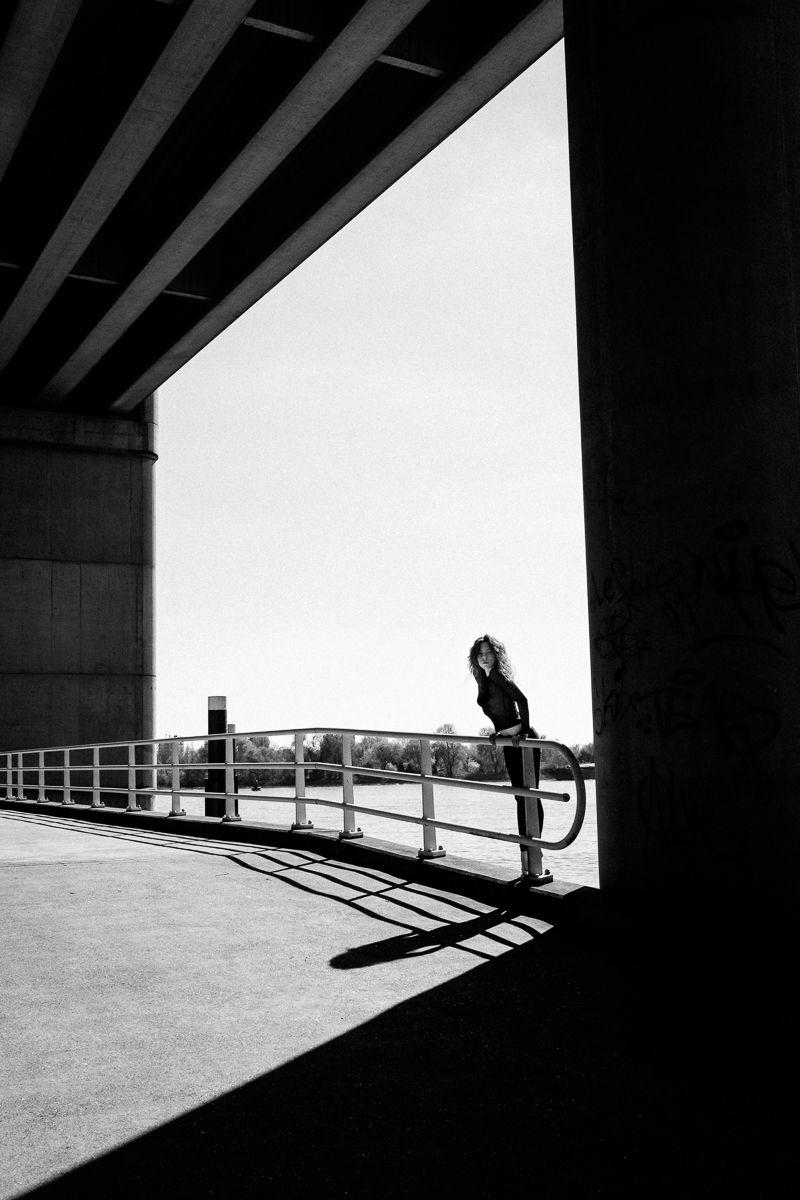 "Leaning Forward"" — Photographer: Marco de Waal Model: Julie | Dark ..."