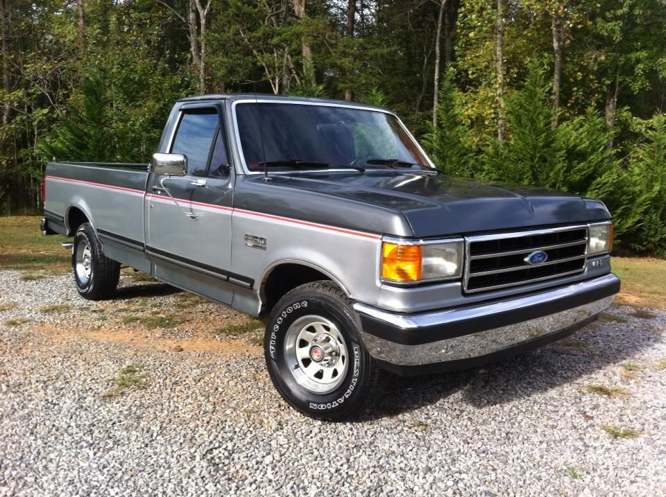 4 1989 Ford F150 Xlt Lariat Rwd The Old Gent In Memory To My