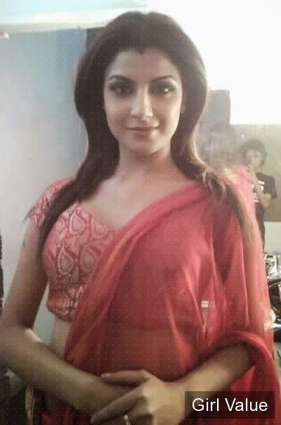 Token1689 Beautiful Hot Indian Babe In Pink Saree