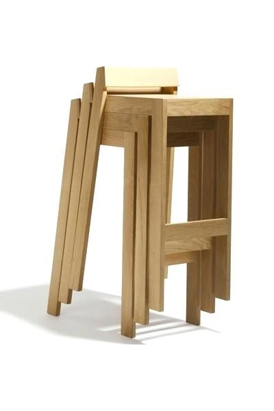 Fine Stackable Wooden Stools Wood Stools Stacking Stools Uwap Interior Chair Design Uwaporg
