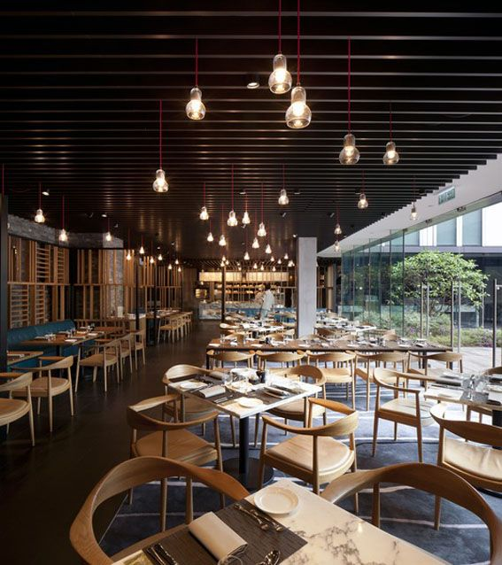 The Market ICON Hotel Hong Kong Submitted By Conran And Partners Restaurant InteriorsCafe