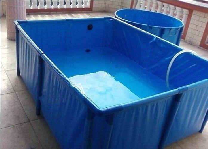 3000l Cube Pvc Fish Tank Fish Farming Pvc Pool Pond Construction