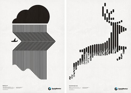 great black and white vector markbrooks  posters