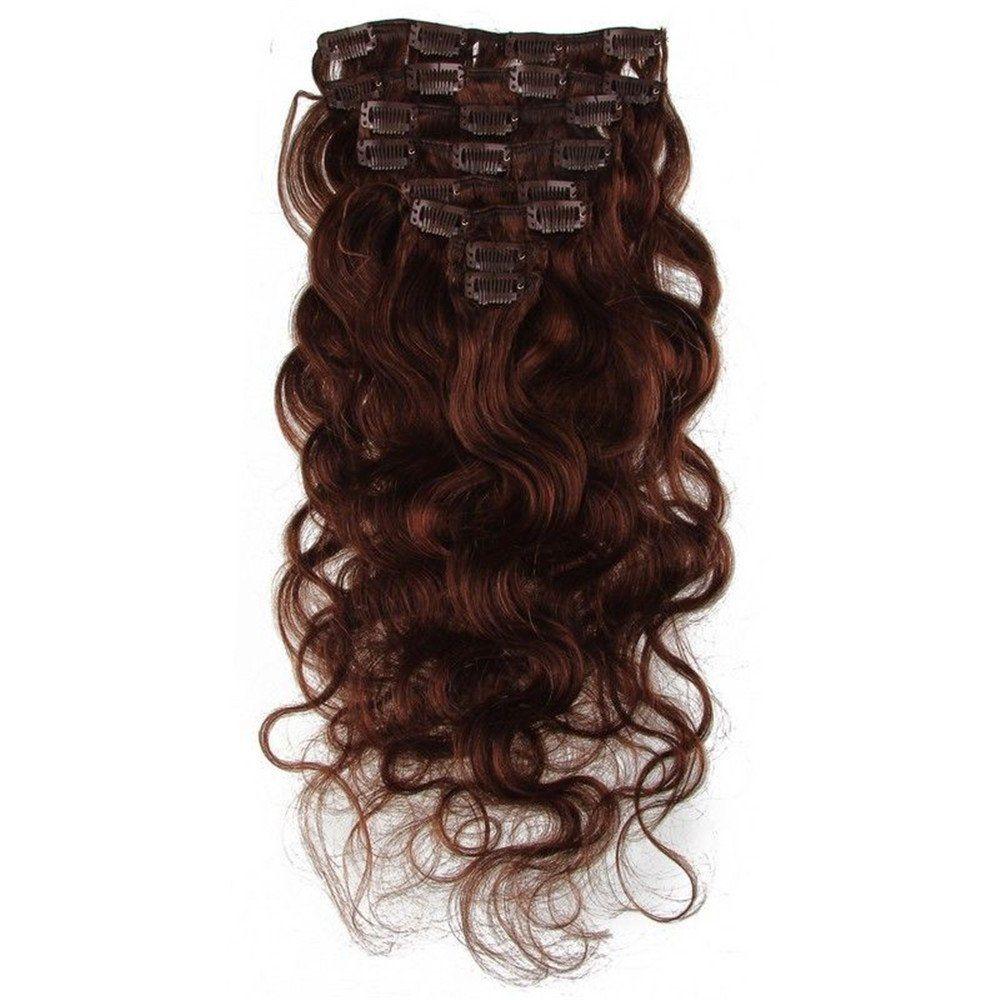 E Forest Hair 7a Grade Virgin 100 Brazilian Human Remy Hair 8pc 80g