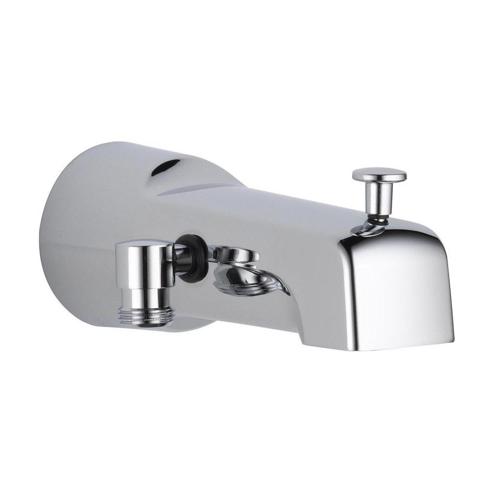 Delta Faucet U1010 Pk 6 11 16 Diverter Wall Mounted Tub Spout With Hand Shower Connection Chrome Grey In 2019 Wall Mount Tub Faucet Delta Faucets Tub