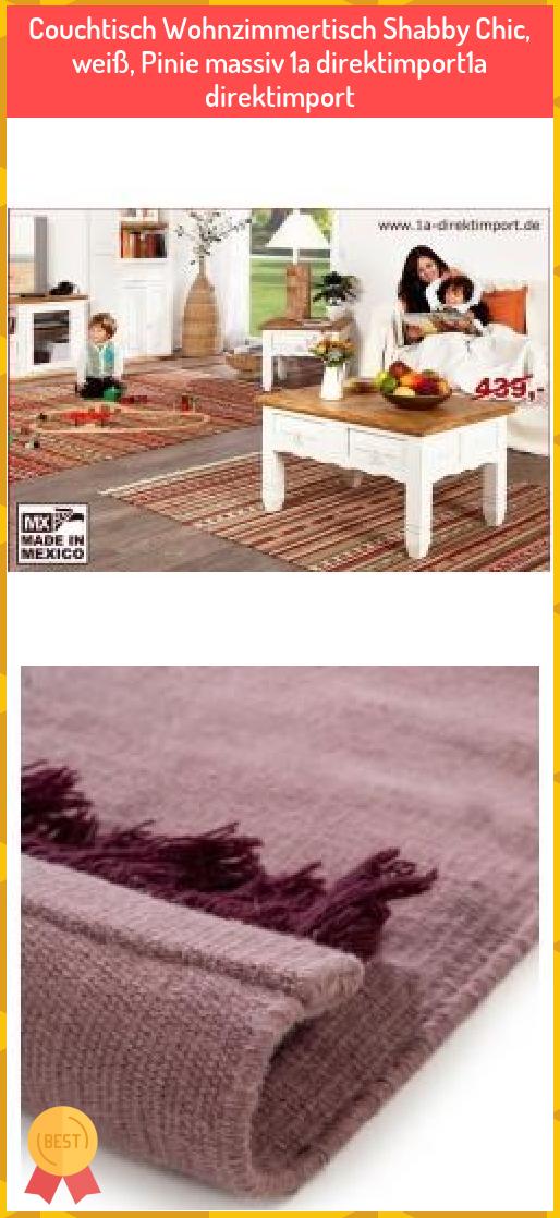 Couchtisch Wohnzimmertisch Shabby Chic Weiss Pinie Massiv 1a Direktimport1a Direktimport Couchtisch Wohnzimmertisch Shabby C In 2020 Coffee Table Decor Home Decor