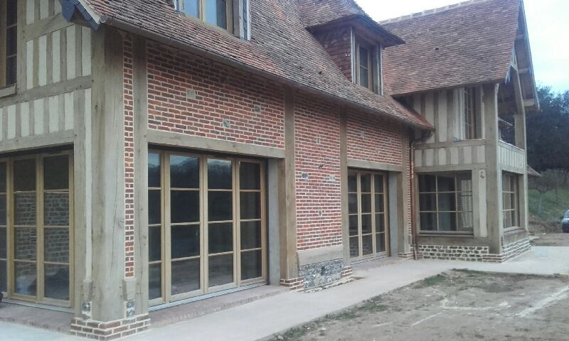 Guillaume tessel bernay 27 est sp cialis dans la construction la restauration la - Extension maison normande ...