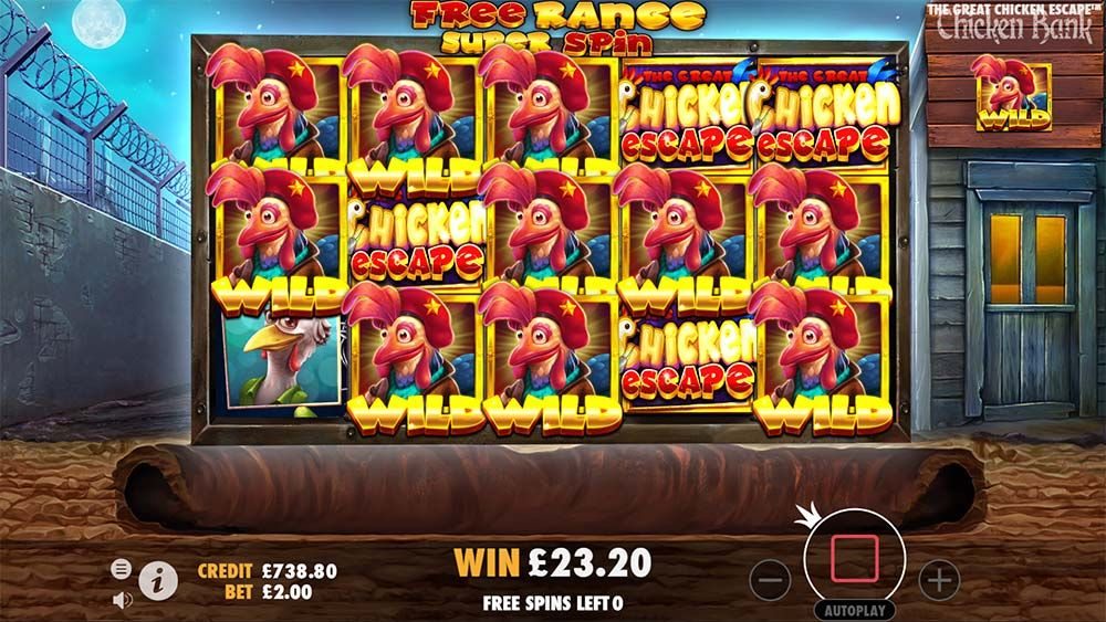 Review and Where to Play The Great Chicken Escape Slot