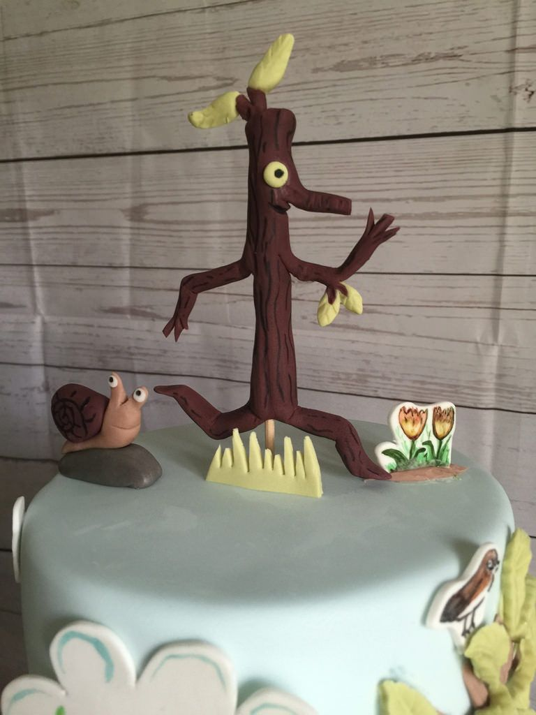 Stick Man Cake For A Christening My Favourite It A While
