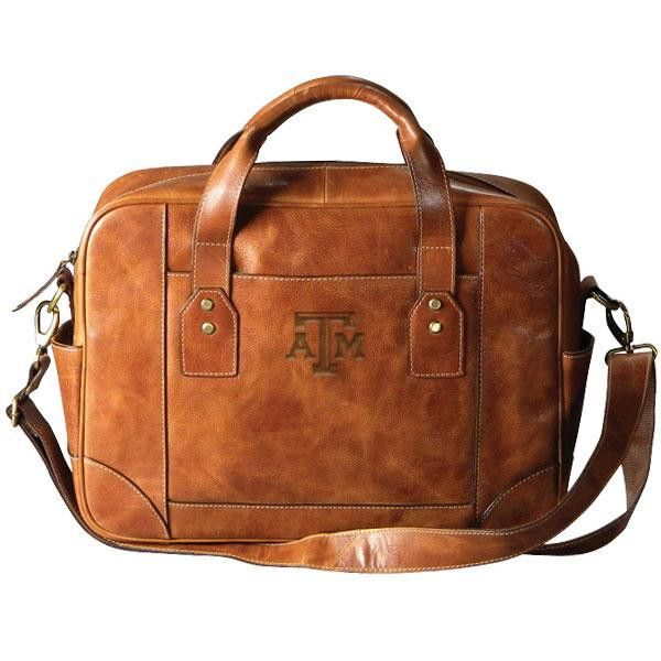Carolina Sewn's top selling men's business case. Our brief has a trim profile but gives you all the space you need for your laptop and important documents. A classic single zip compartment with many i