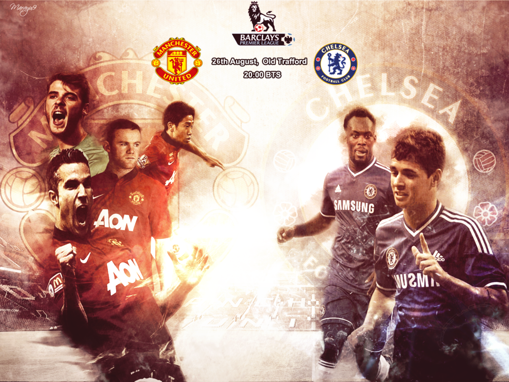 Manchester United Vs Chelsea By Marayu9 Deviantart Com On Deviantart Manchester United The Unit Manchester