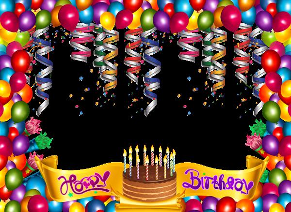 Cute Happy Birthday Frame | Feliz Cumple | Pinterest | Happy ...