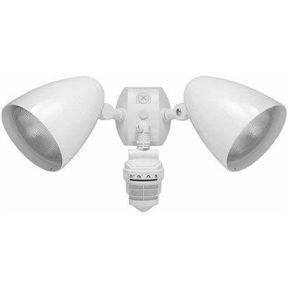 Outdoor Security 2 Light Led Floodlight With 360 Degree Motion Sensor Outdoor Flood Lights Outdoor Lighting Lighting