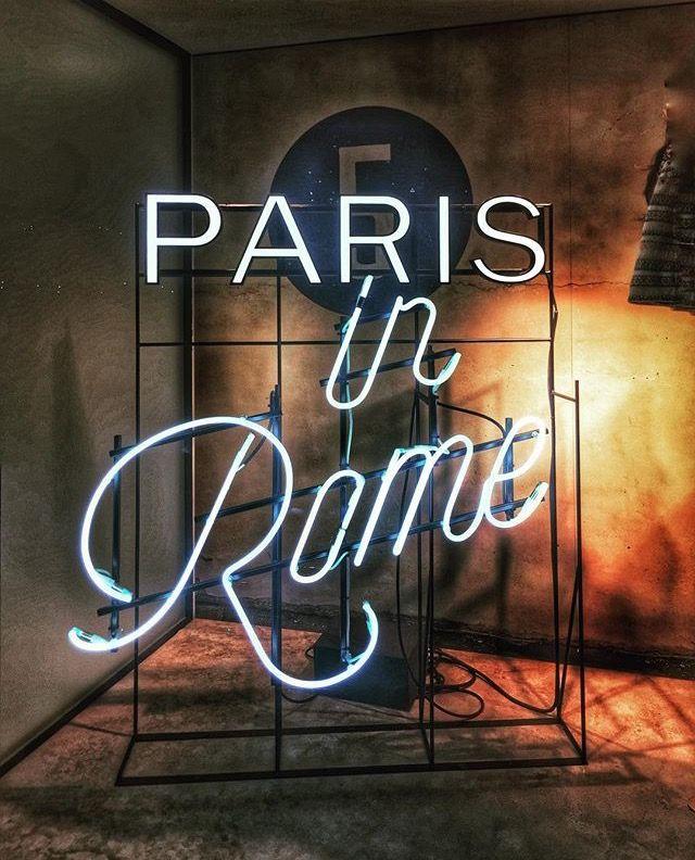 Pin by Freddy Belrose on LIGHTING | Neon signs, Paris, Rome