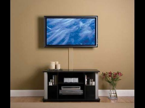 How To Mount Led Tv On Plaster Wall Mount Flat Screen Tv Wall Mounted Tv Tv Wall