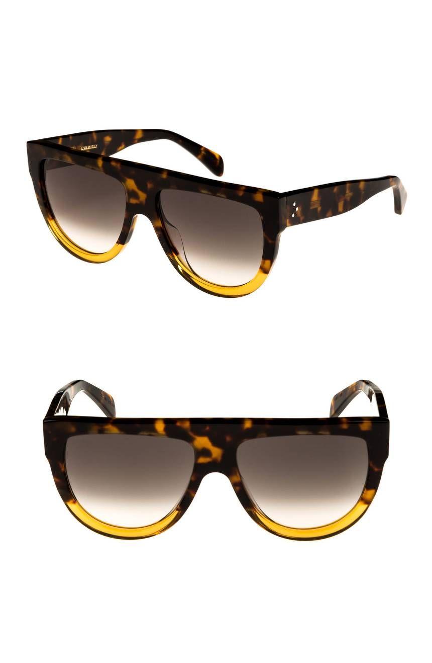 095cbd9b63402 Main Image - Céline Flat Top Sunglasses