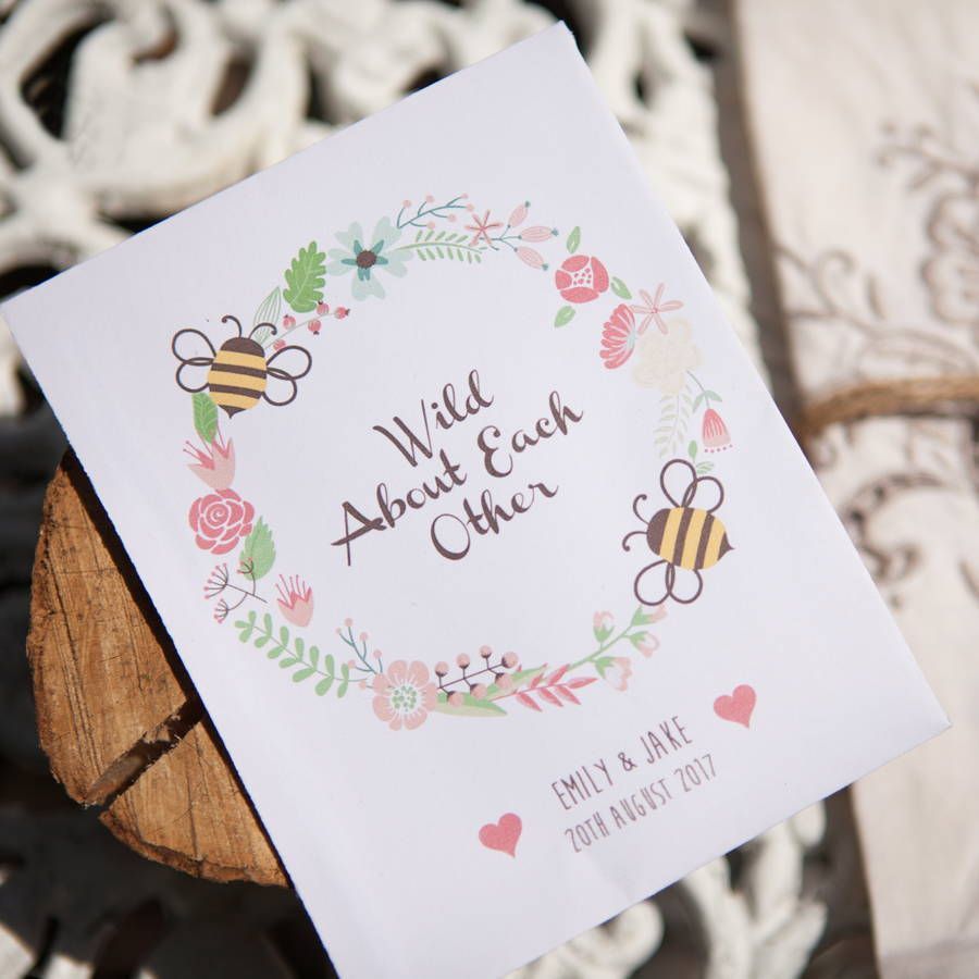 Exelent Wildflower Seed Packets Wedding Favors Ornament - The ...