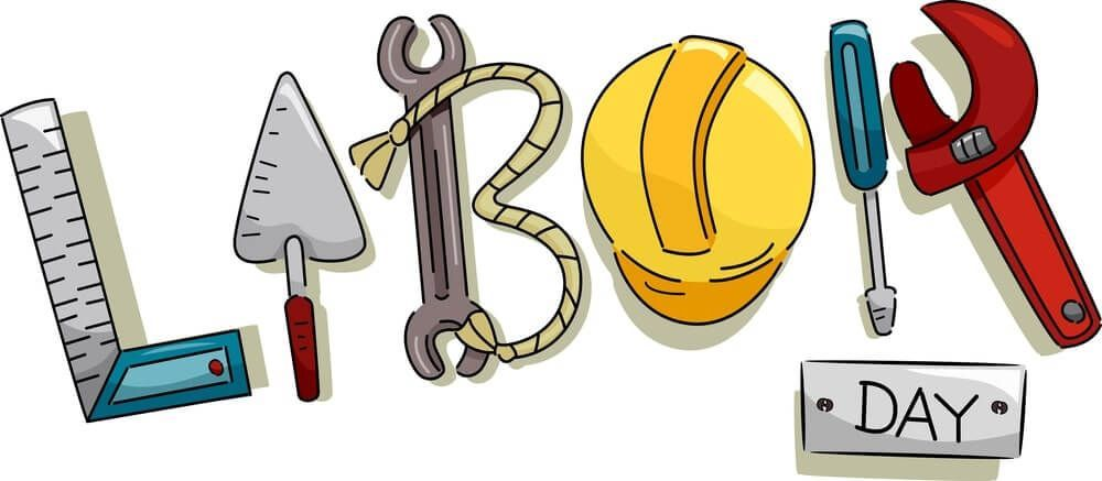 Hi Friends Today I Am Going To Share Some Free Labor Day Clip Art Images With You Labor Day Is An Unofficial Labor Day Clip Art Happy Labor Day Free Clip