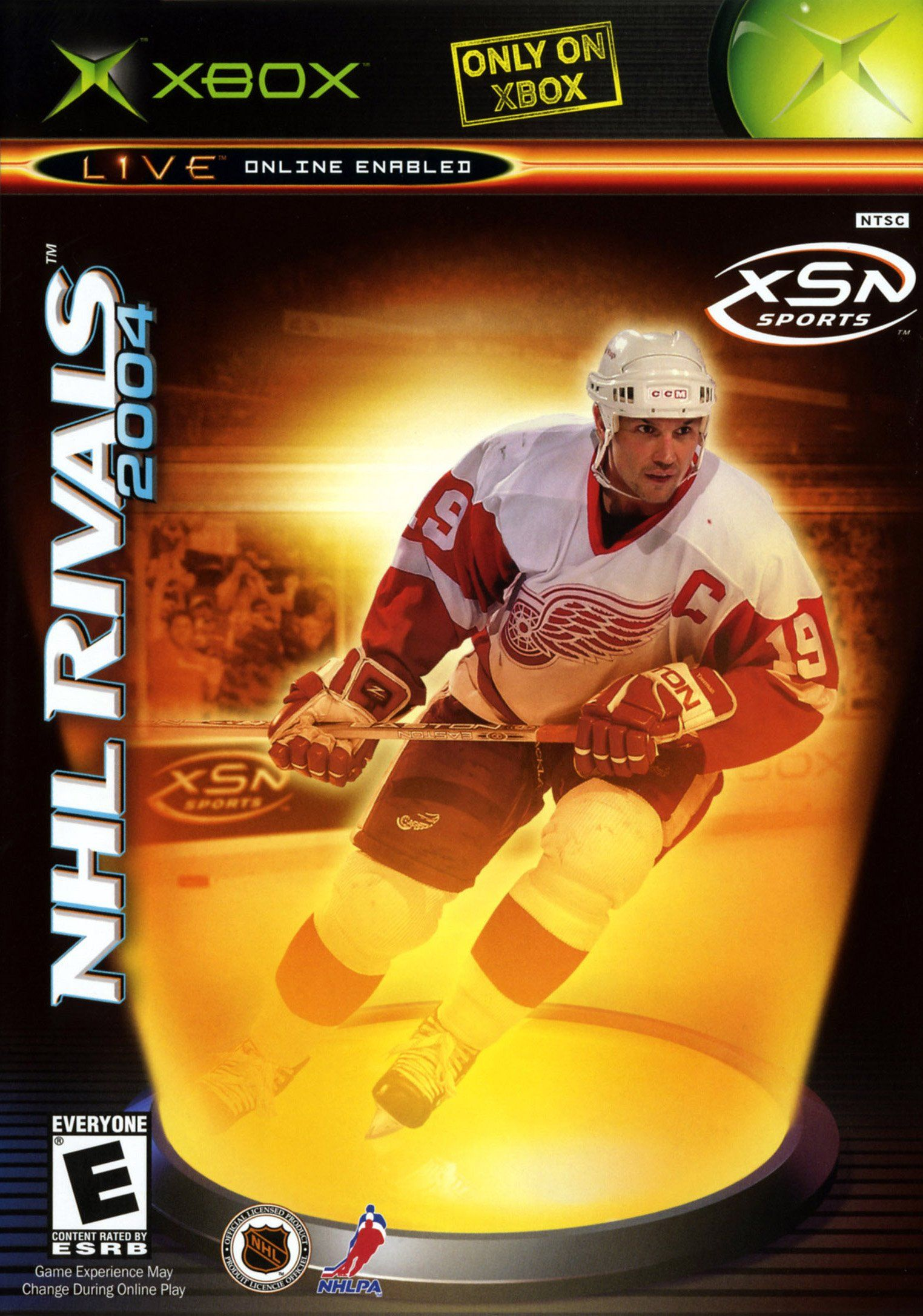 NHL Rivals 2004 (Microsoft Xbox, 2003) Retro game