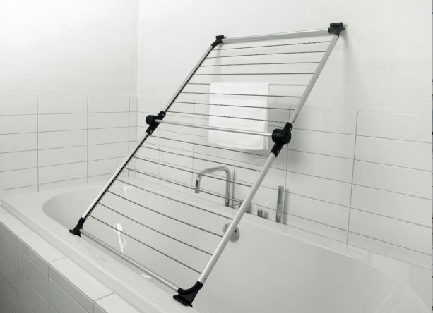 Drying Clothes Indoors Tips Bath Rack