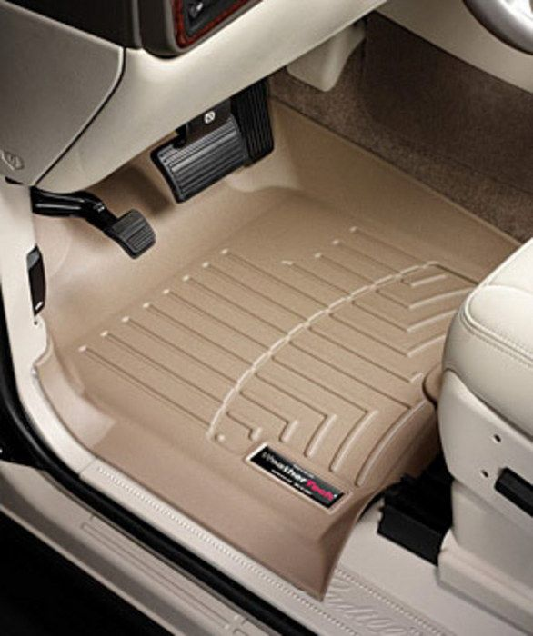 Cutom Ridgelines Honda Ridgeline FRONT Floor Liners - 2006 acura tl floor mats