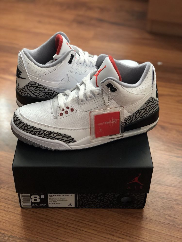 hot sale online a8ebd fb898 Air Jordan 3 x Tinker Hatfield Justin Timberlake JTH  JustinTimberlake   AthleticSneakers