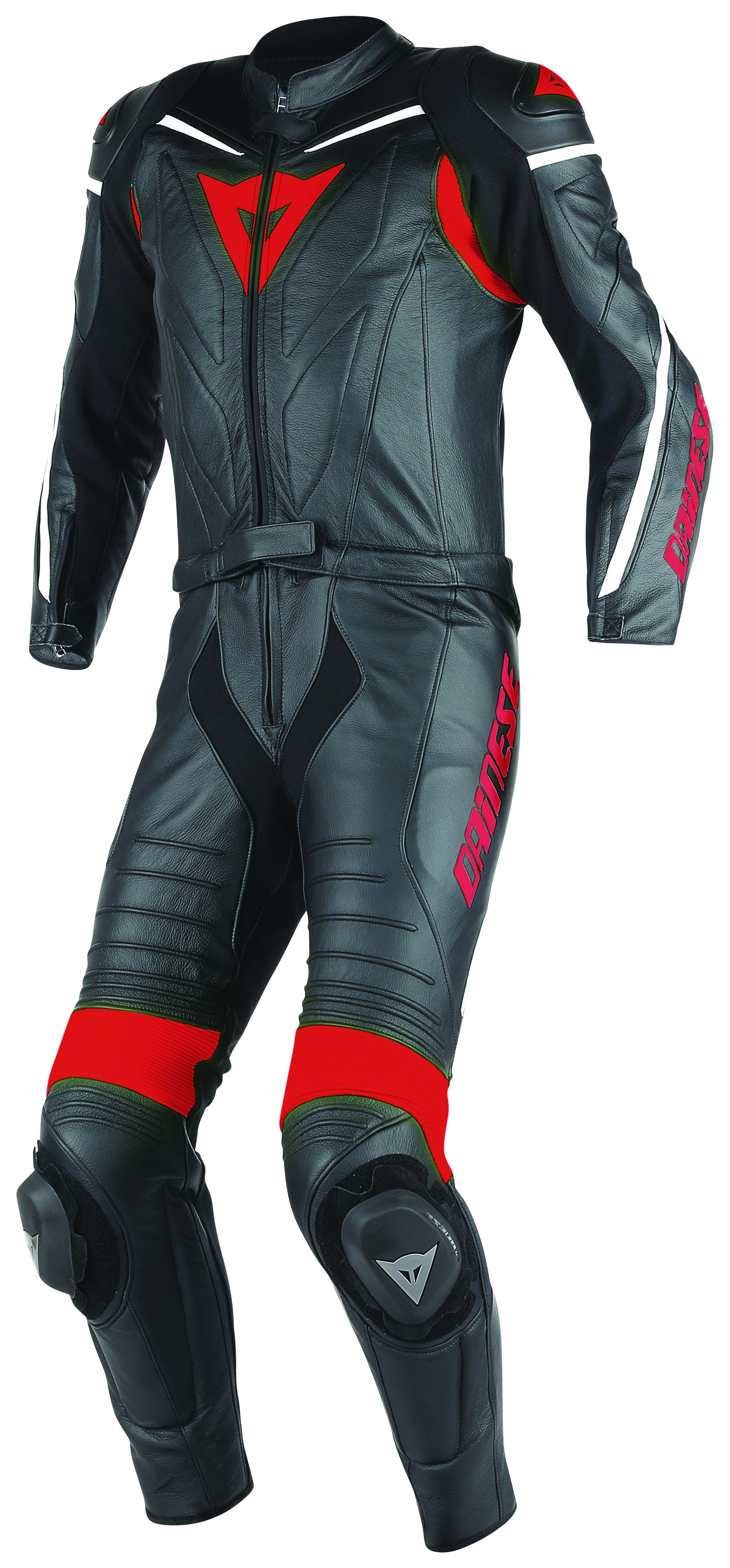 Motorcycle New Black Two piece Leather Track Racing Suit CE Approved Protection SMALL
