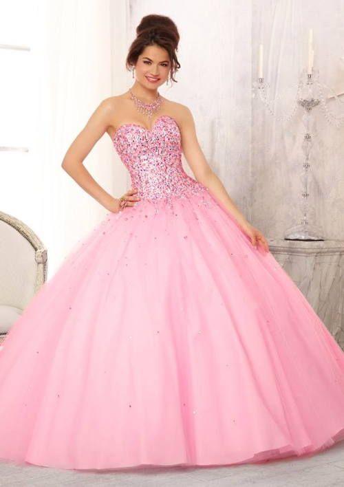 Vestidos De Xv Años Rosa Pastel Elegantes Vestidos De Moda