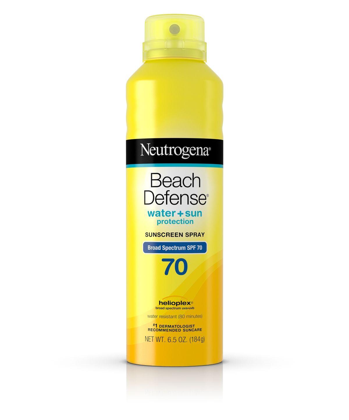 Beach Defense® Spray Sunscreen SPF 70 Neutrogena