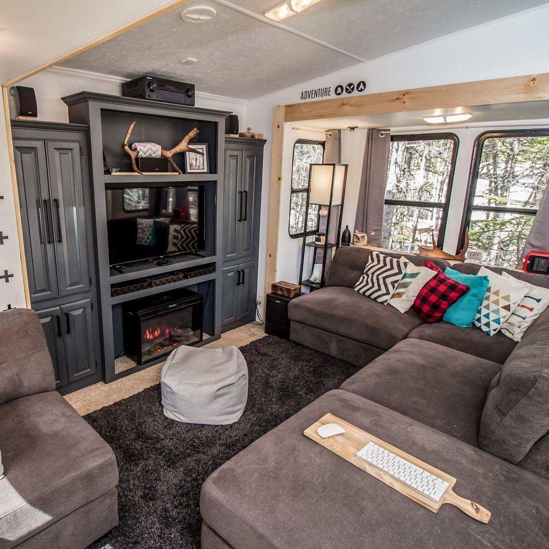 Pin By Shila Jurado On Rvs Rv Interior Living Room Decor Home