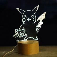 23 46 Pokemon Pikachu 3d Led Night Light Table Bedside Lamp Yiilighting Com Best Lightings Shop Whatsapp 8618102538 3d Led Night Light Light Table Lamp