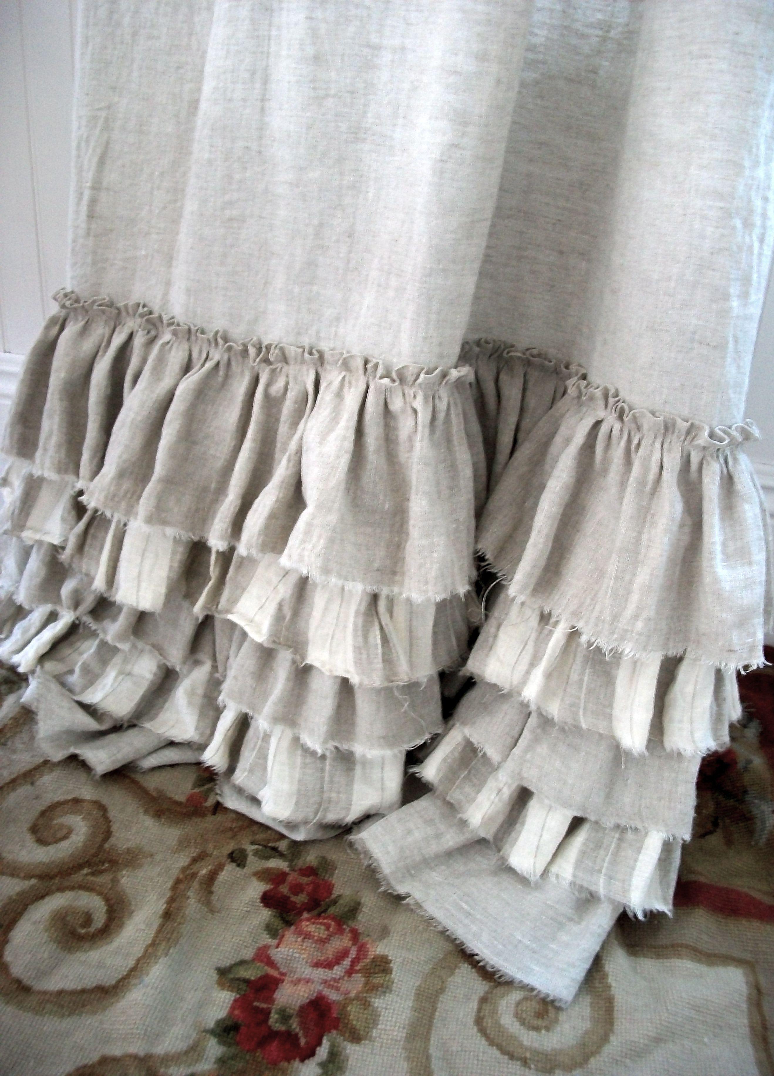 Cortinas arpillera arpillera o tela de saco color saco for Cortinas de tela de saco