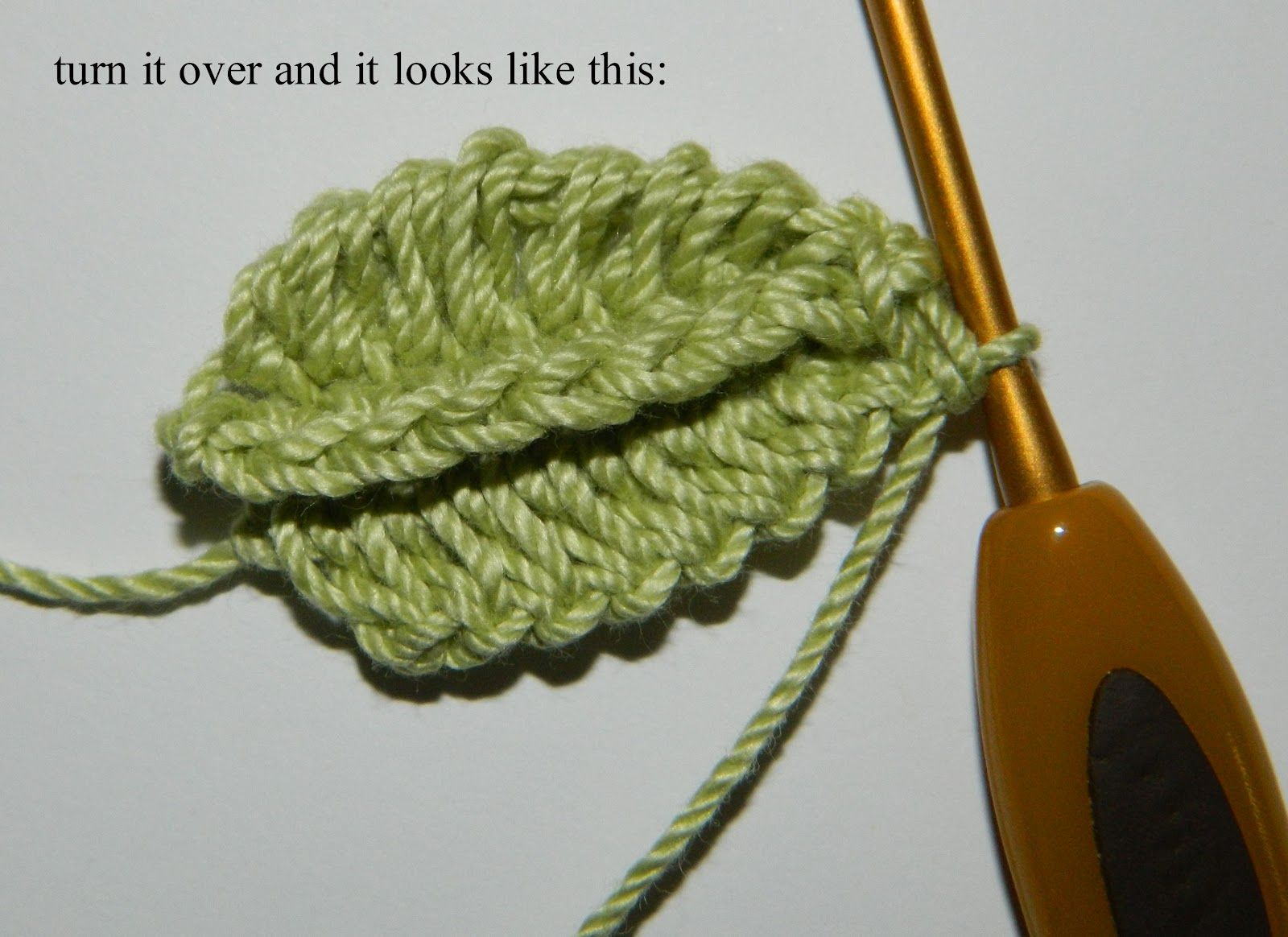 So i found another really cool crochet thing on pinterest with no so i found another really cool crochet thing on pinterest with no clear directions crochet leaf patternscrochet bankloansurffo Image collections