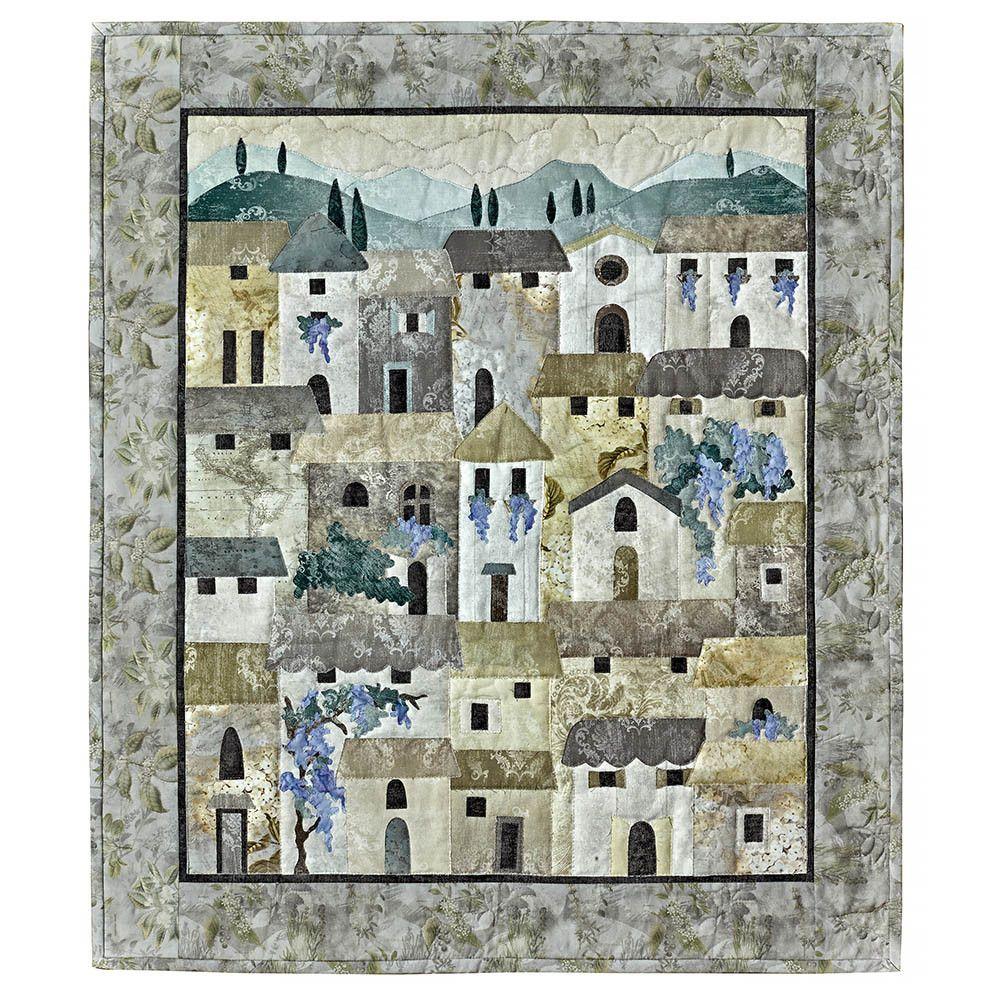 Villas At Dawn Kit By Mckenna Ryan In 2020 Art Quilts Quilts Quilt Kits