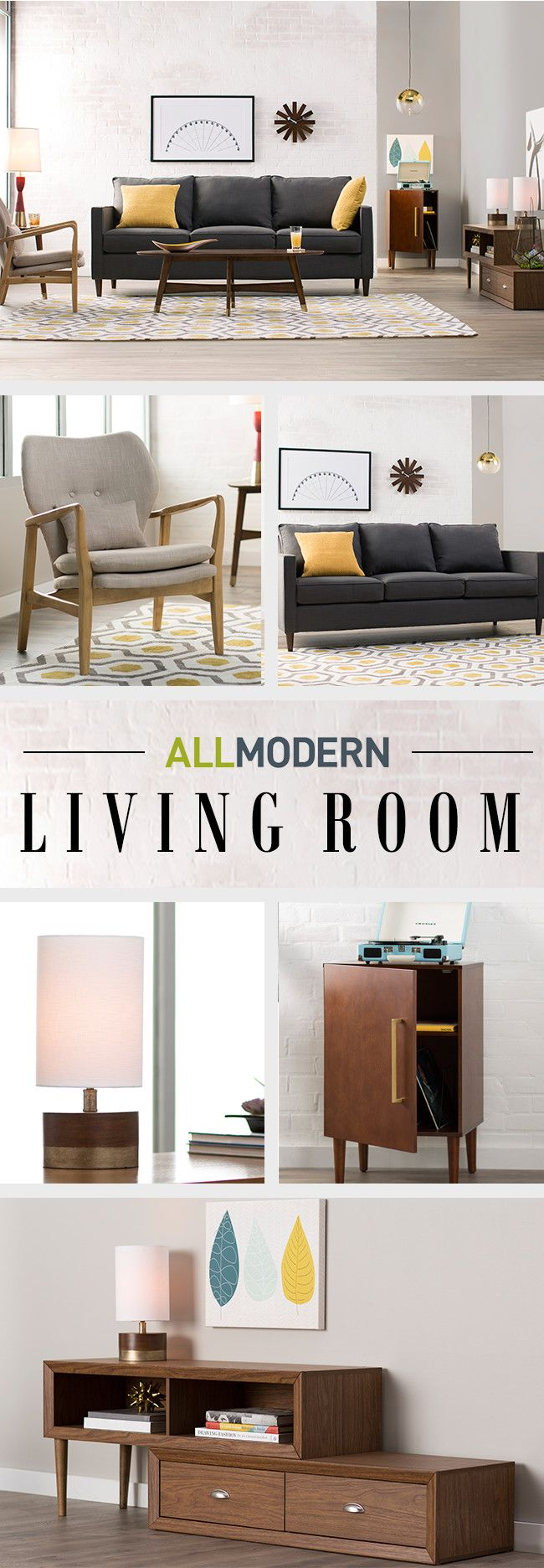 Bringing the look of high end modern showrooms to a wide - Living room home decor fort langley ...