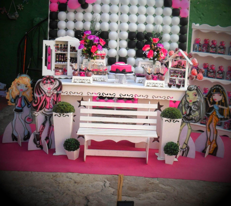 Ideias De Decoracao De Festa Monster High Decoracao Monster High