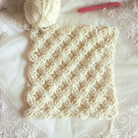 Crochet Stitch + Diagram + Video Tutorial   Crochet   Pinterest ...