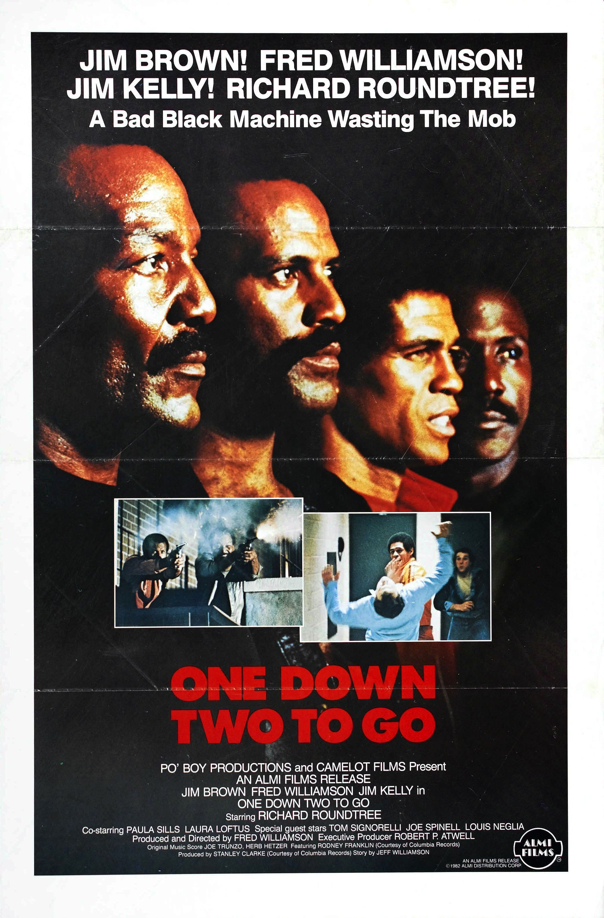 One Down, Two to Go (1982) Blaxploitation film, African