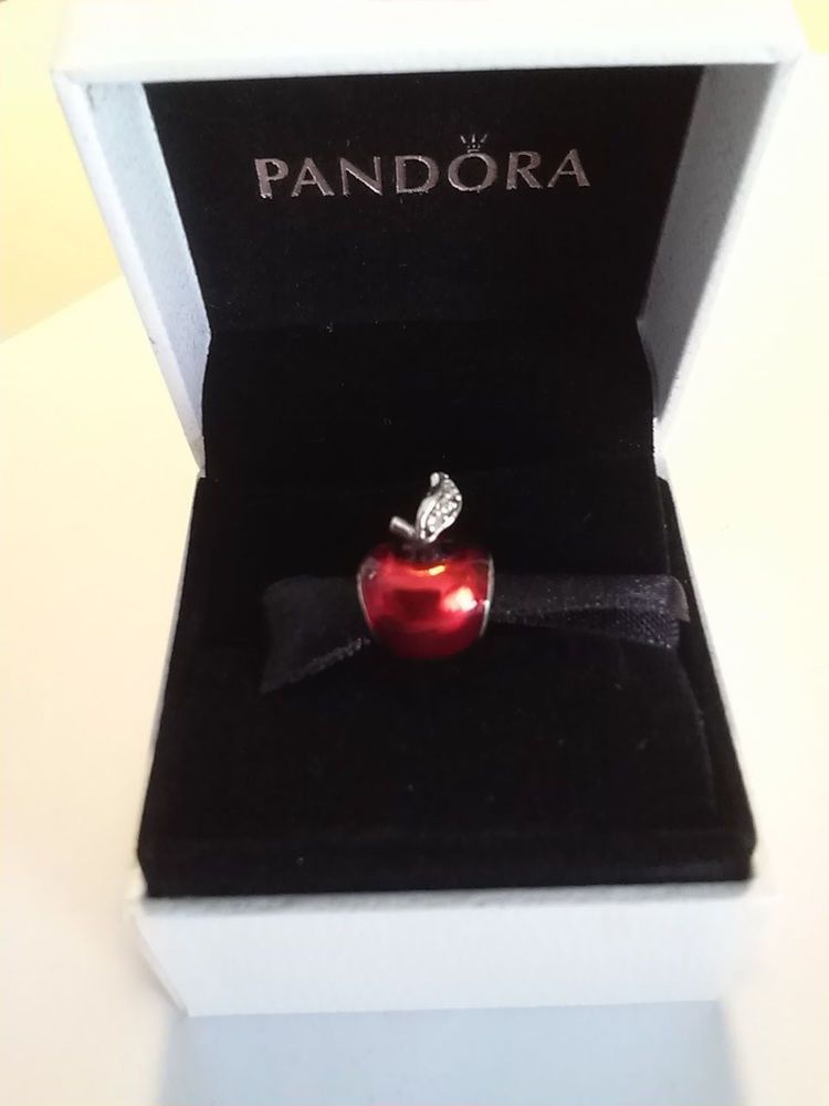 f5ad2057e Authentic Pandora Disney Snow White Apple Silver Charm #791572EN73 #Pandora  #European http: