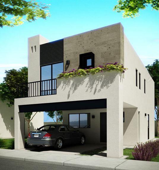 Home decore house fachada casa mexico construccion arquitectura monterrey - Construccion de casas modernas ...