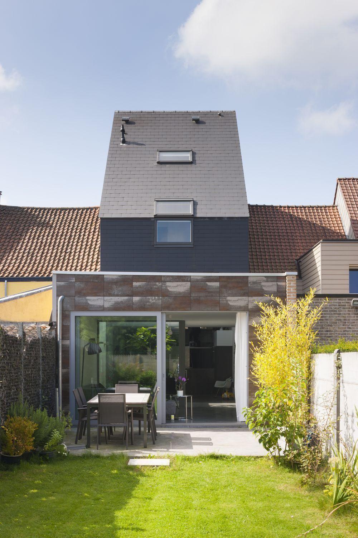 La transformation impressionnante d\'une maison de rangée en bâtiment ...