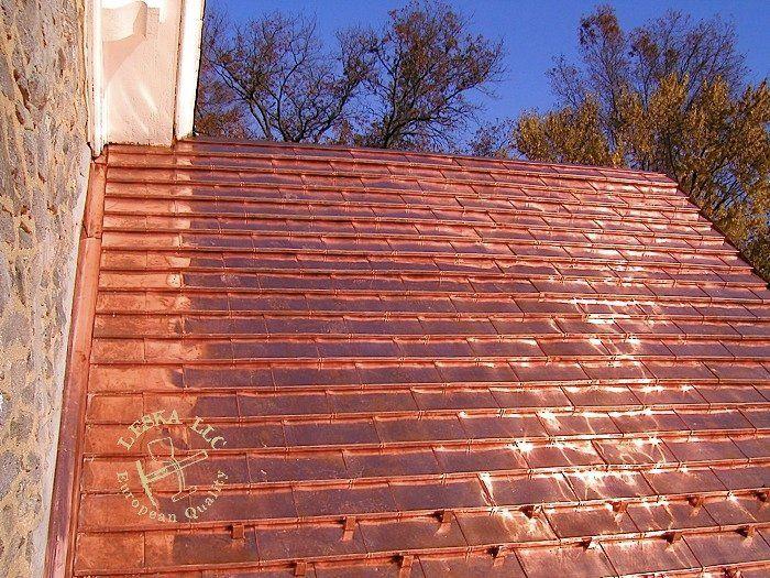 Copper Tile Roof Yelp Pub Sheds Modern Architecture Mosaics