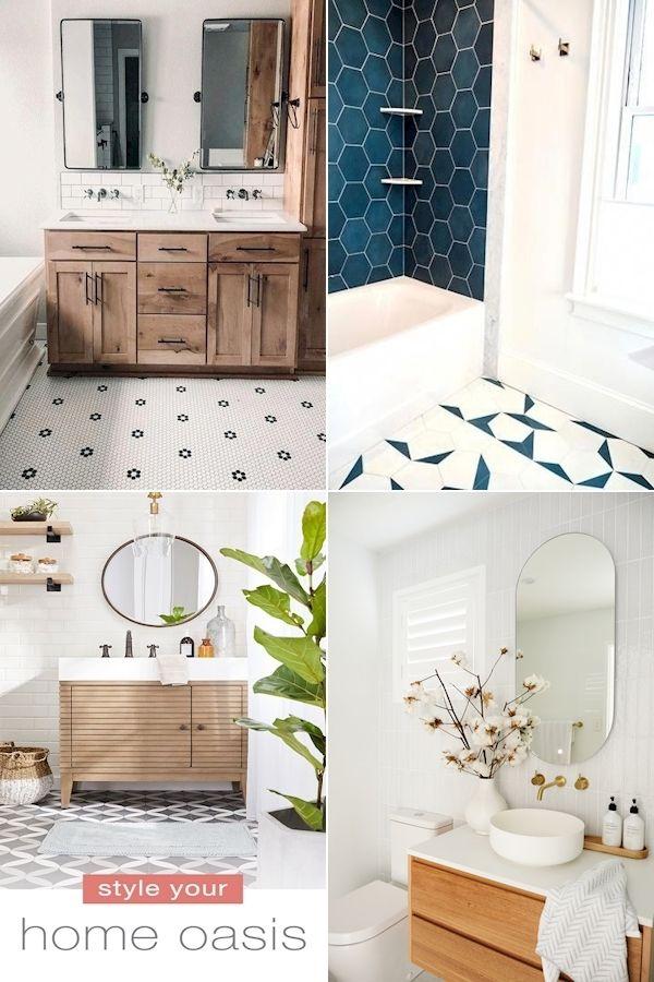 Bathroom Decor Ideas Blue And White Bathroom Decor Marble Bathroom Bin Washroom Dec In 2020 Black Bathroom Accessories Yellow Bathroom Decor White Bathroom Decor